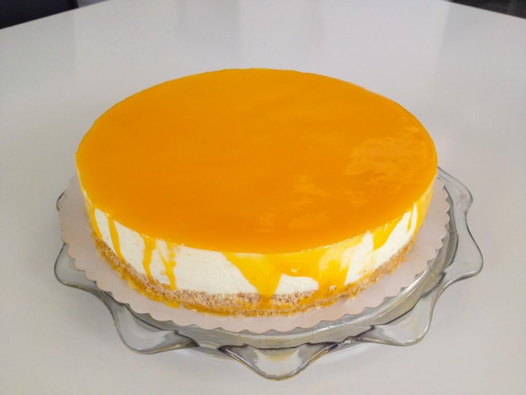 Mandarinen Frischkase Torte Kuchenkram