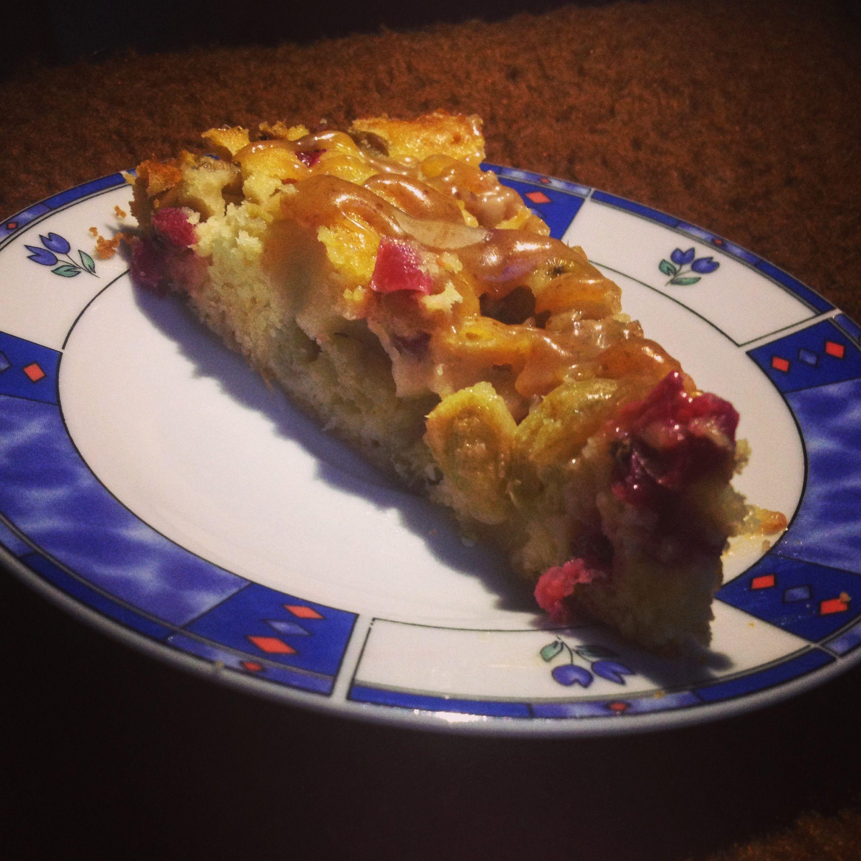 Stachelbeer Johannisbeer Kuchen Mit Karamell Kuchenkram